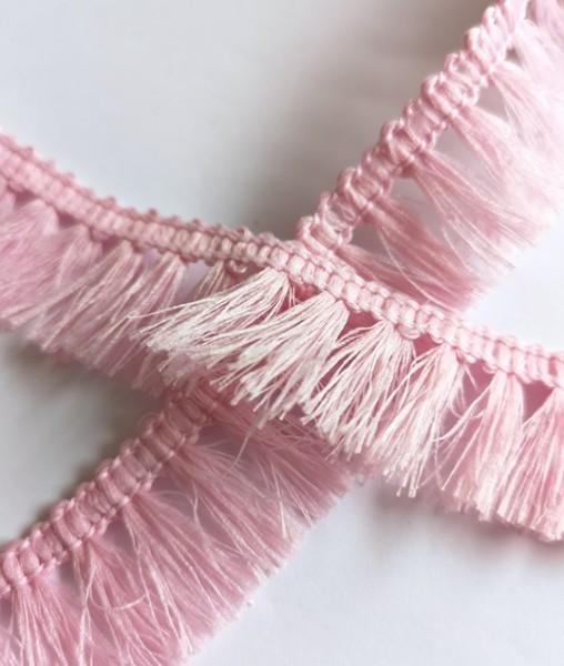 Fransenborte, rosa