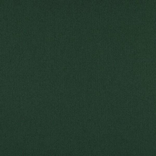 Fester Baumwollstoff/Köper, dunkelgrün, waschbar bei 60°