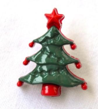 Weihnachtsbaum, Knopf