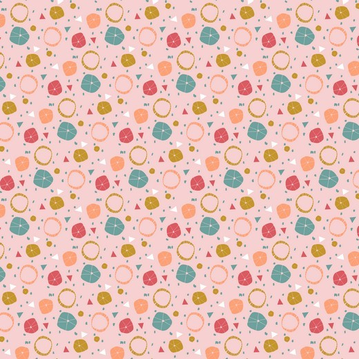 Umbrella rosa, Webstoff, waschbar bei 60°