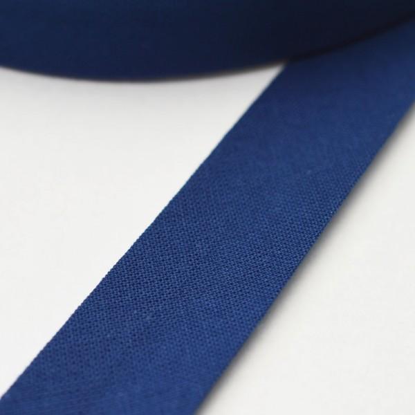 Schrägband, 20 mm, dunkelblau