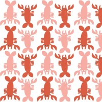 blendfabrics, Lobster Tails White, Webstoff