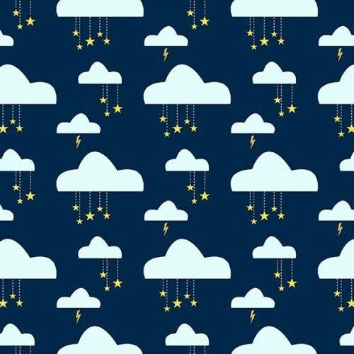 Michael Miller, Believe Clouds blue