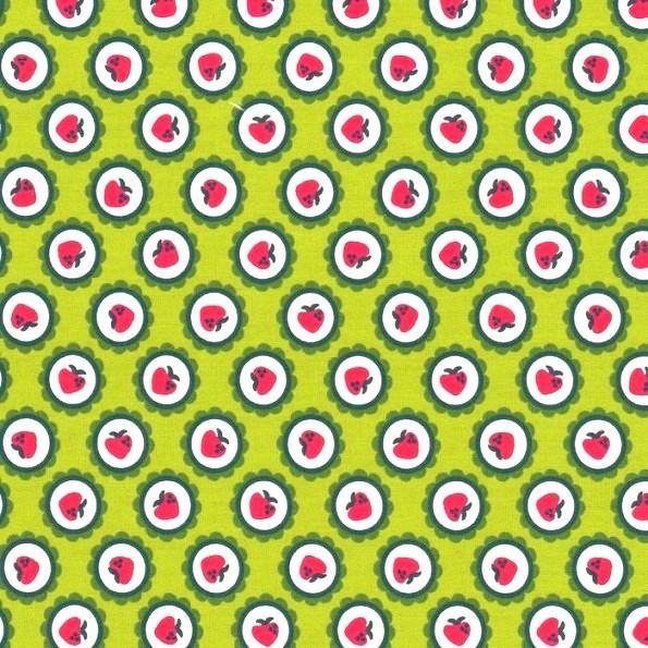 Carlito Berry grün, Popeline