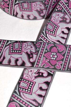Elefanten, Webband breit