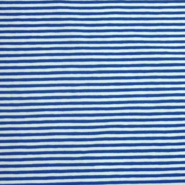 Leon, Streifen royalblau-weiß, Jersey