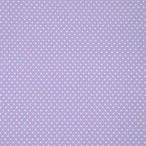Lili Punkte klein, flieder, Webstoff, waschbar bei 60°