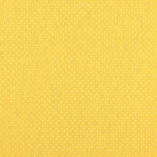 Alma, Laminat/Wachstuch, Pünktchen auf gelb