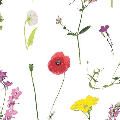 Art Gallery Lavish, Petal Picking Dainty, weiß Baumwollstoff