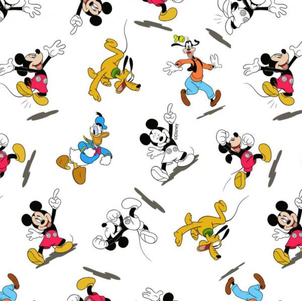 Mickey's Friends, Baumwoll-Popeline