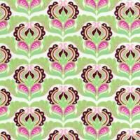 R. Kaufman, Cool Cords Pink Light Design green, *SALE*