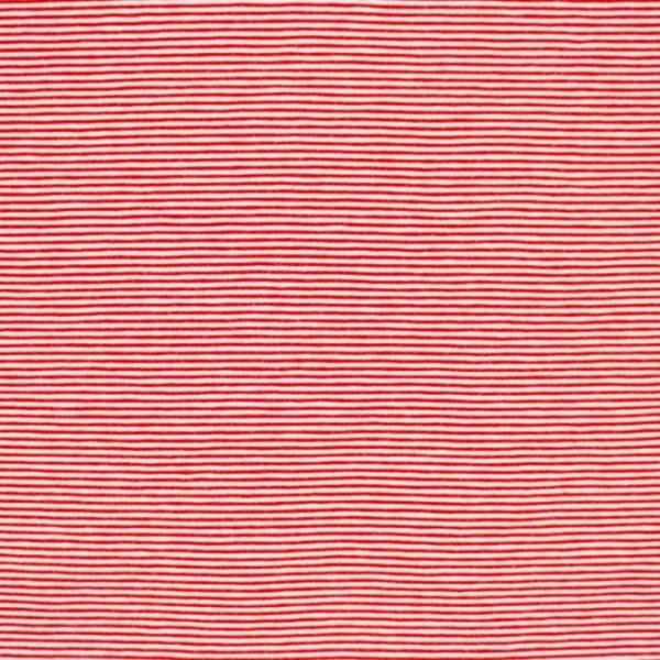 Streifenjersey mini, rot-weiß