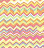 Rowan Zig-Zag pink-yellow, Webstoff