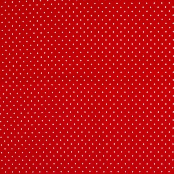 Miri kleine Punkte rot, Jersey