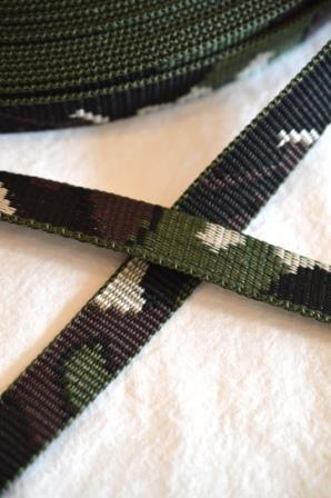 Gurtband, camouflage, 20 mm