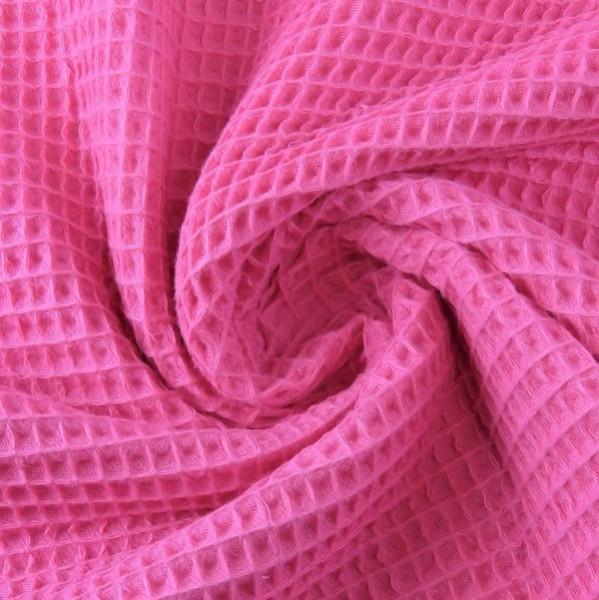 Waffelpique, pink