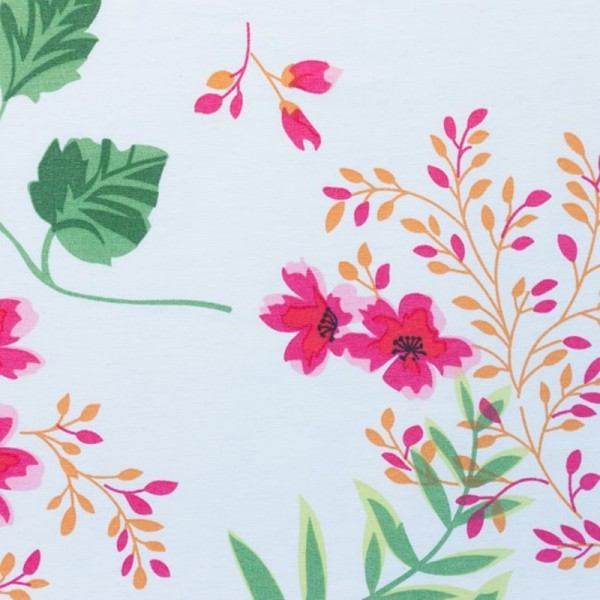 Dekostoff, Flowers *AKTION*