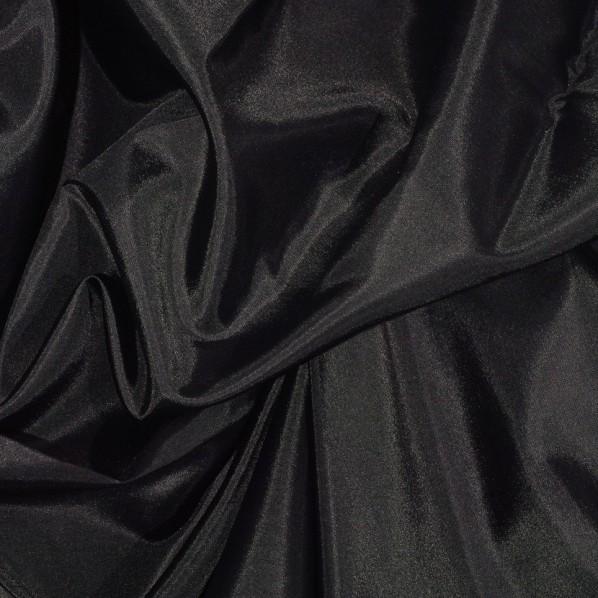 Futterseide schwarz