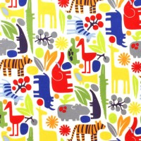 A. Henry, 2D Zoo bunt, Laminat