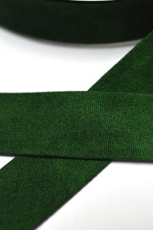 Tie Dye Schrägband, 20 mm, dunkelgrün