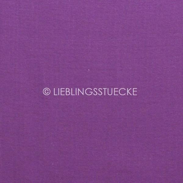 Ripp-Bündchen helles violett