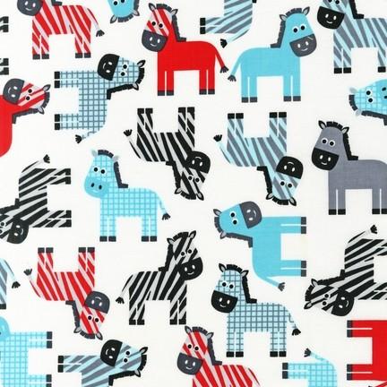 R. Kaufman, Urban Zoologie Zebra weiß, *SALE*