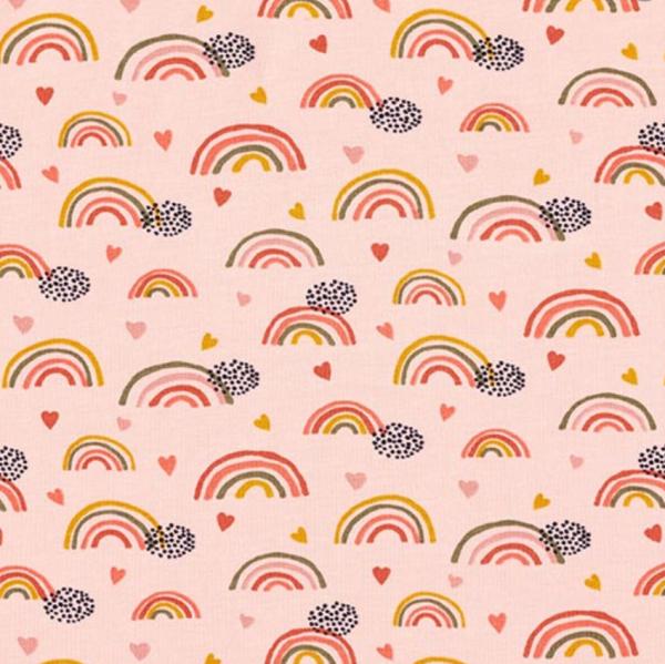 Bio-Jersey, Regenbogen rosa