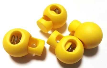 XL Kordelstopper, gelb