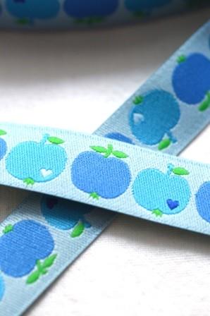 byGraziela Apfel, blau, Webband