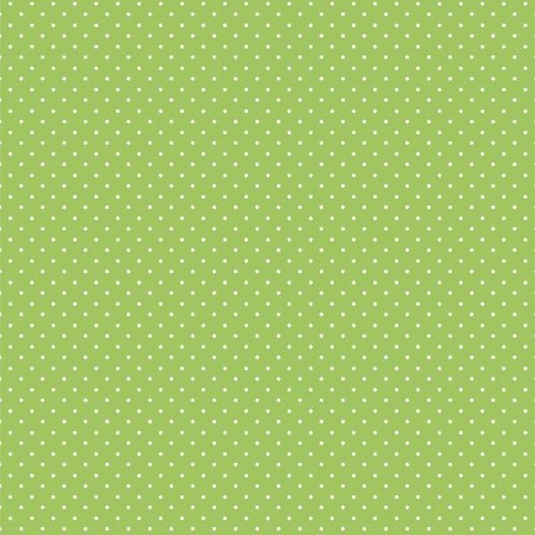 Lili Punkte klein hellgrün, Webstoff, waschbar bei 60°