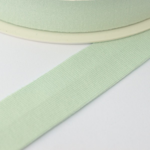 Viskosejersey-Schrägband, lindgrün
