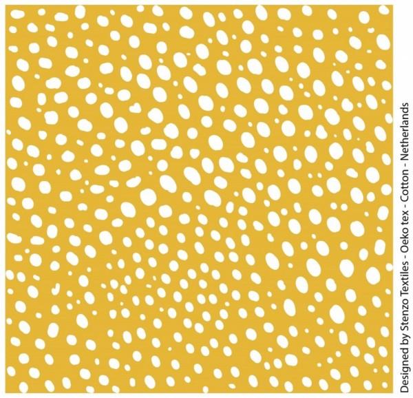 Stenzo Suny, Dots helles senfgelb-weiß, Popeline