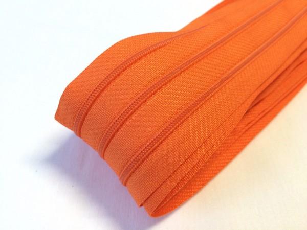 Endlosreißverschluss, orange