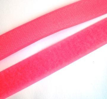 Klettverschluss, pink