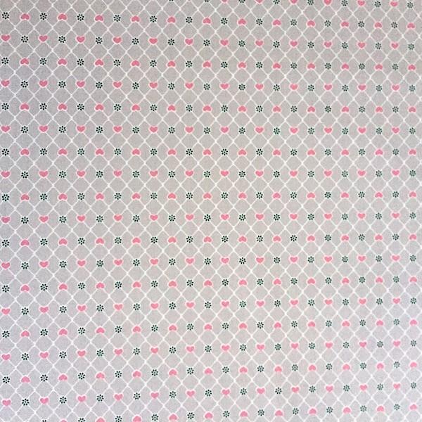 Mathilda Dots and Hearts beige
