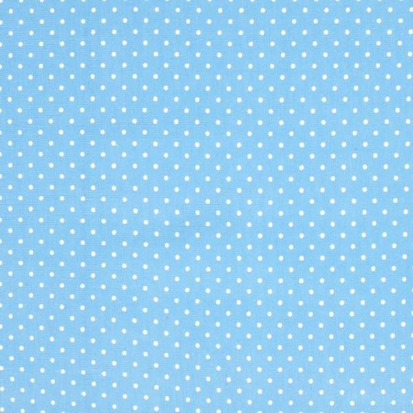 Miri kleine Punkte hellblau, Jersey