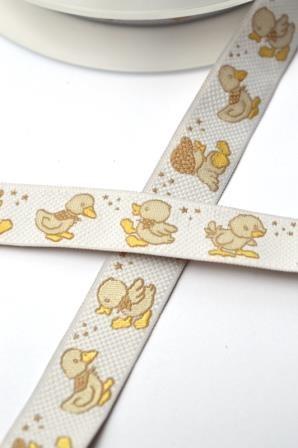 Quack Quack, beige, Webband