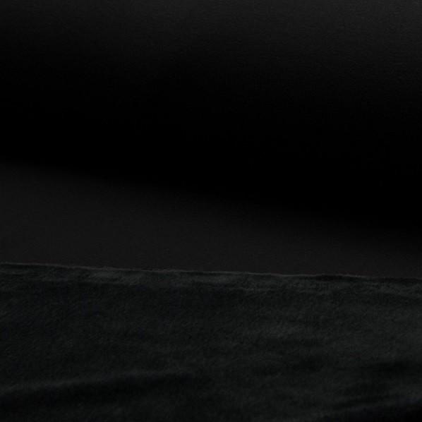Alpenfleece-Uni, schwarz