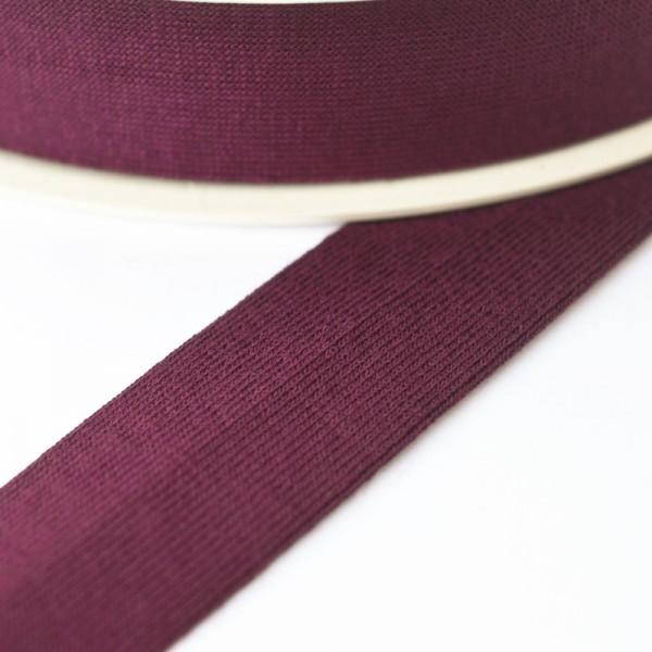 Viskosejersey-Schrägband, beere