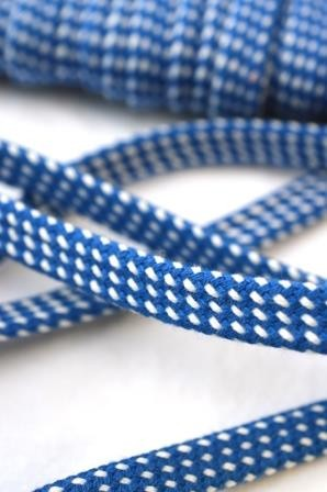 Hoodieband, blau-weiß