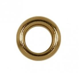 Ösenset mit Werkzeug, 15 mm Ø, gold