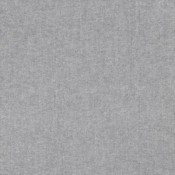 Oxford grau-meliert, Baumwollpopeline, waschbar bei 60°