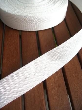 Gurtband, weiß