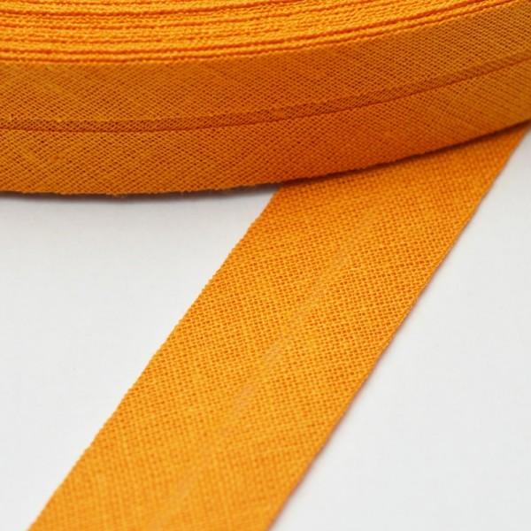 Schrägband, 20 mm, senf