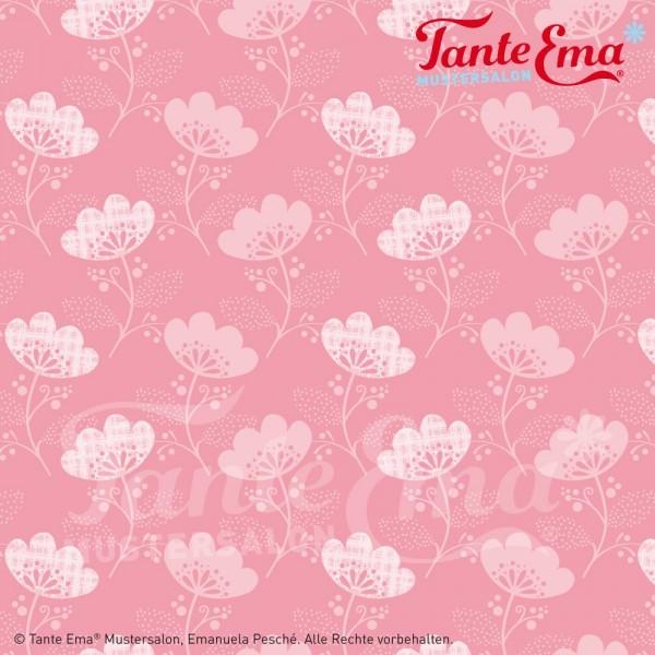 Laminat, Tante Ema Blütenmagie rosa