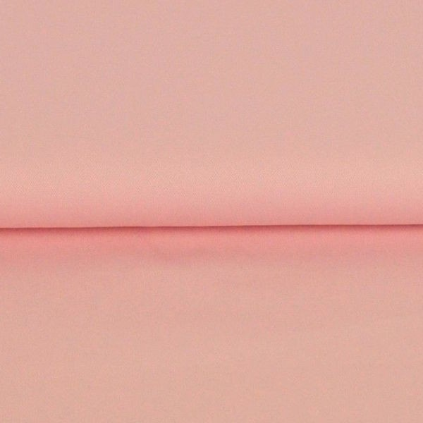 Fester Baumwollstoff/Köper, rosa
