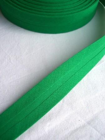 Package Schrägband, 20 mm, grün - 10 Meter