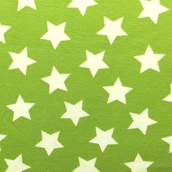 Tom, große Sterne hellgrün, Jersey