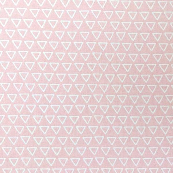 Harmony, Dreiecke, rosa, Webstoff