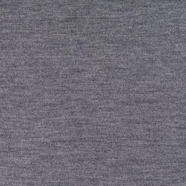 Feiner Merino-Strickstoff, grau-meliert